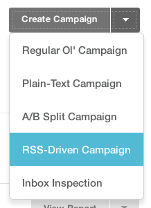 RSS Driven Campaign