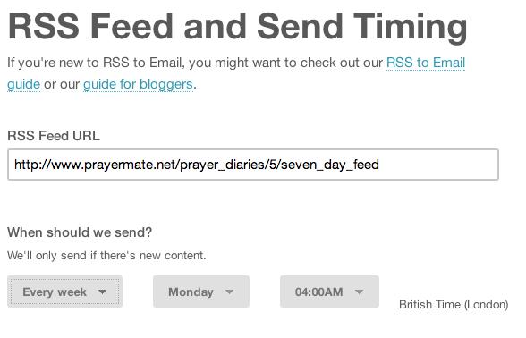 RSS Campaign URL