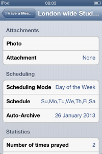 Setting an auto-archive date